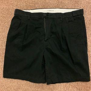 Men's Croft & Borrows Black Shorts